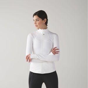 LULULEMON Define Jacket White Zip Up Size 6